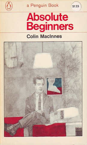 Absolute Beginners first Penguin paperback edition illustration by Peter Blake